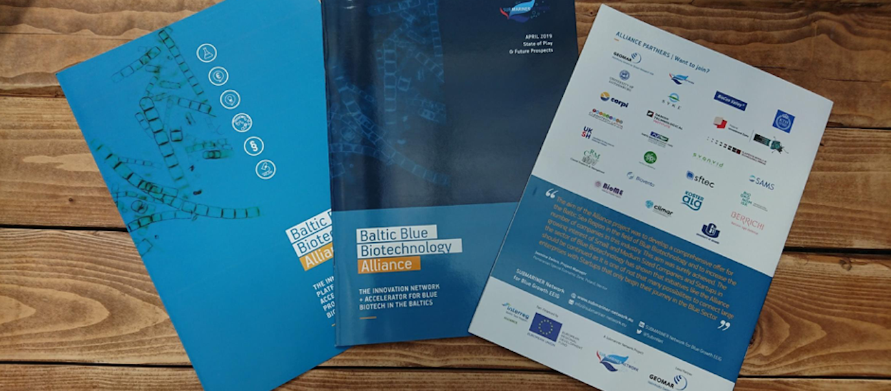 Baltic Blue Biotech Alliance releases illustrated reports on the state of play and outlook for 2019