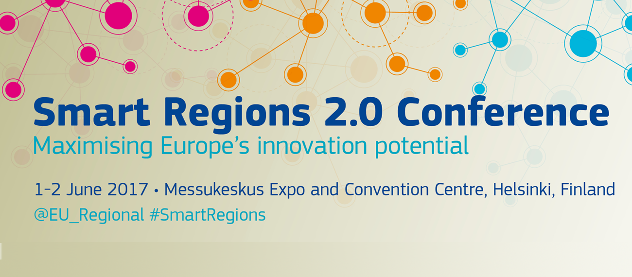 Smart Blue Regions Represented at the Smart Regions 2.0 Conference in Helsinki