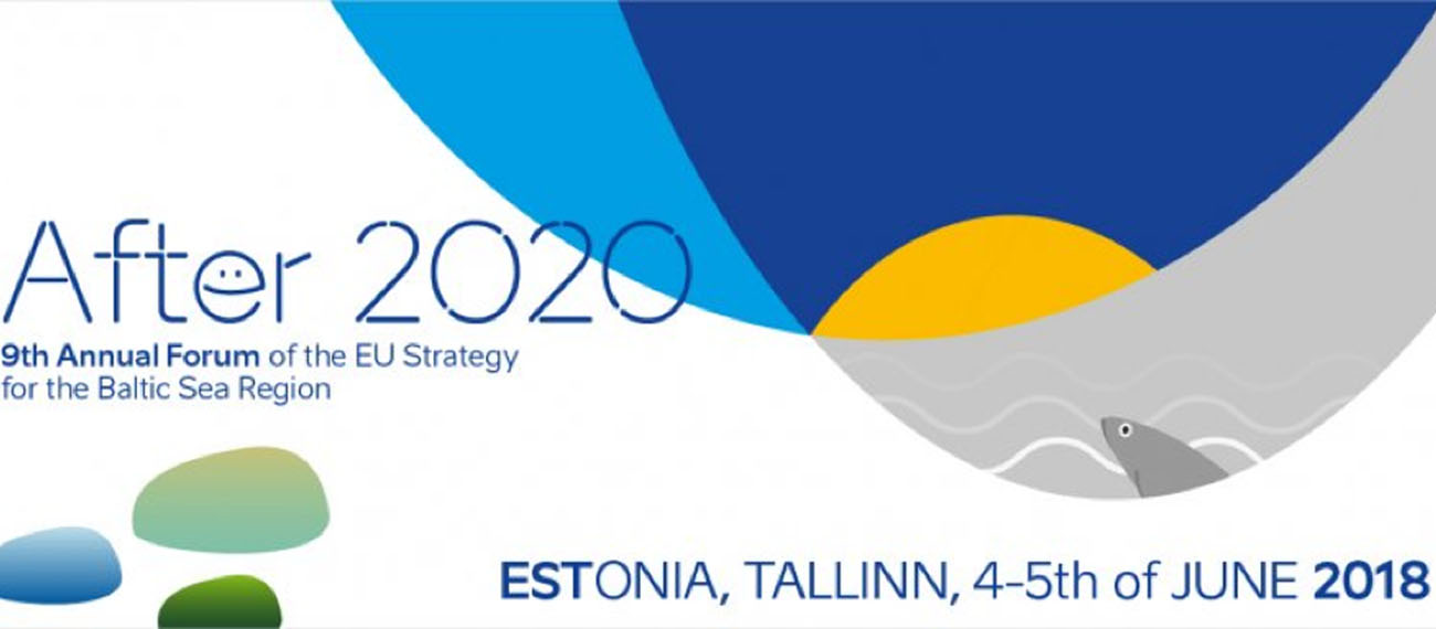 SUBMARINER Network attended the 9th Annual Forum of the EUSBSR in Tallinn on 4 – 5 June 2018