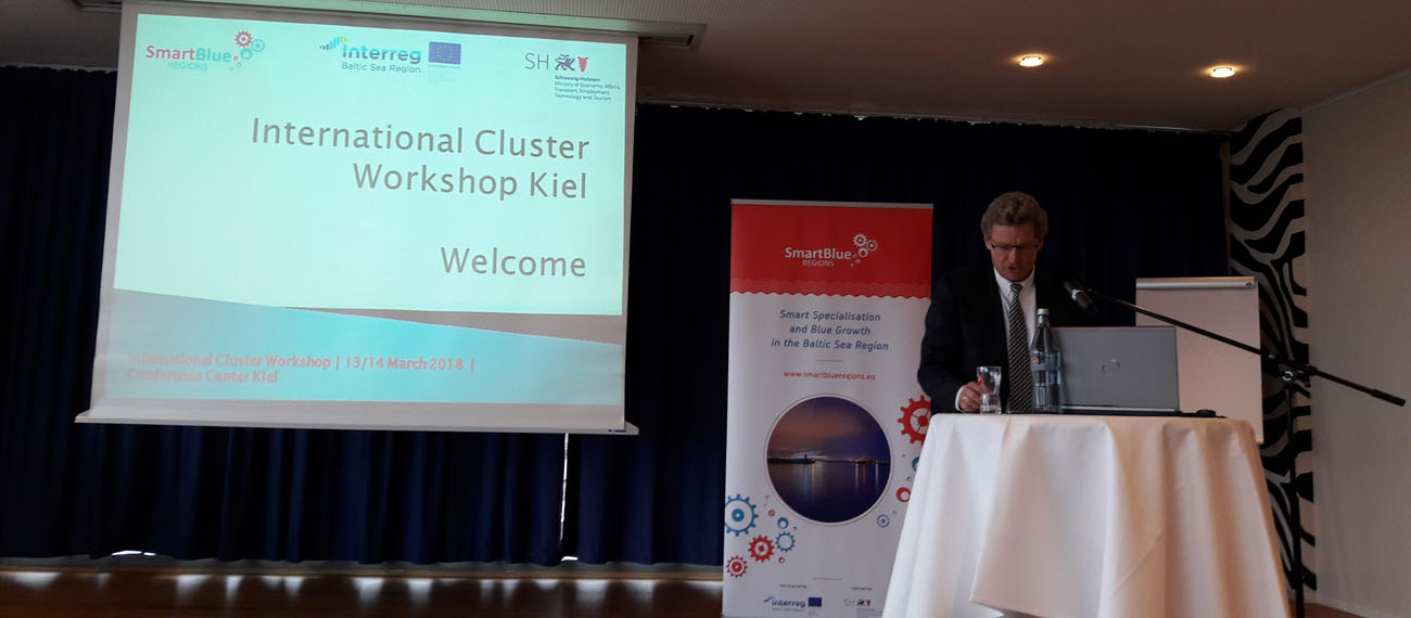 First International Cluster Workshop in Kiel - cooperation opportunities in the Baltic Sea Region