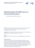 SUBMARINER Policy Paper #1: Mussel farming in the Baltic Sea as an environmental measure